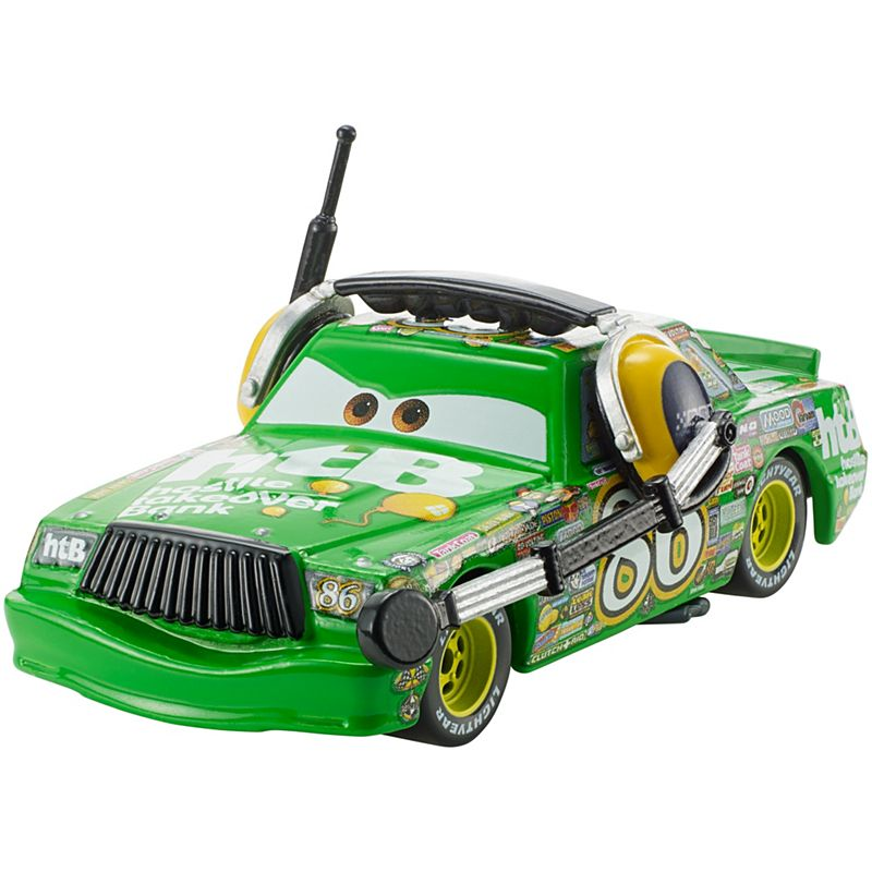 Disney Pixar Cars  Chick Hicks With Headset Die Cast Vehicle