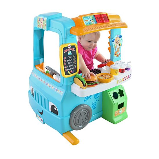 Image For Laugh And Learn Servin Up Fun Food Truck From Mattel