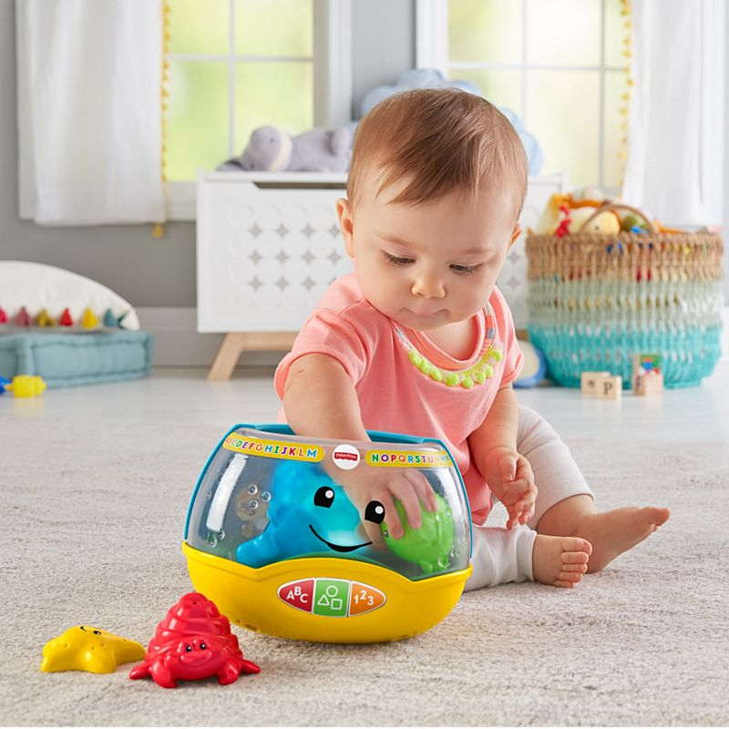 Laugh Learn Magical Lights Fishbowl Dym75 Fisher Price