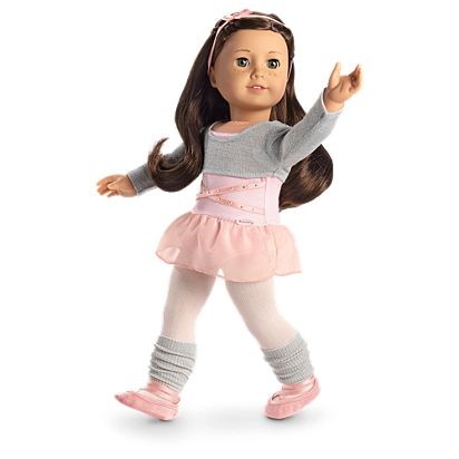 7fef76967 Ballet Class Outfit for 18-inch Dolls