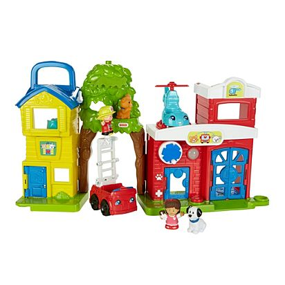 little people animal rescue playset dyr80 fisher price