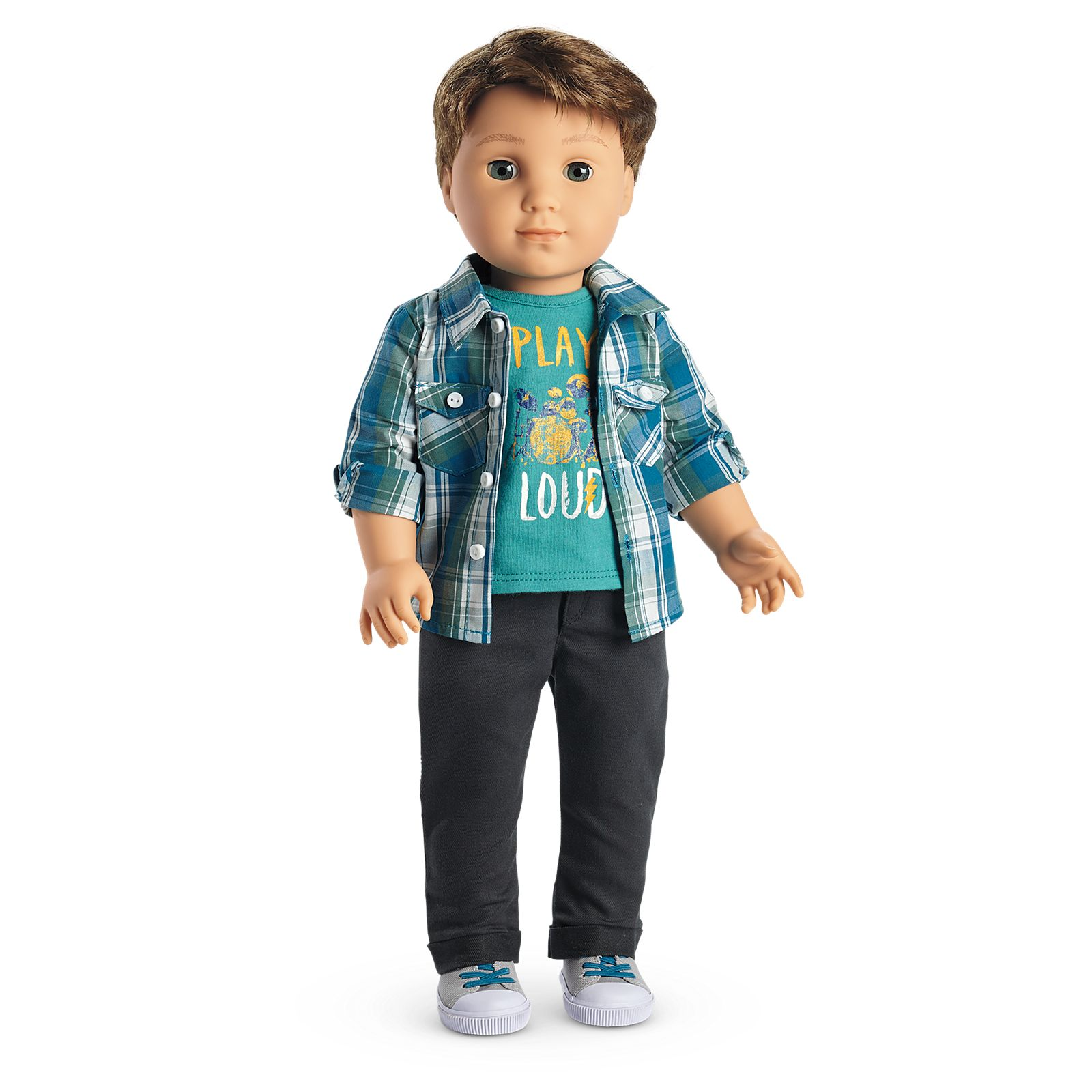American Girl Truly Me Boy Doll Meet Outfit Pants Off NEW in Box Doll