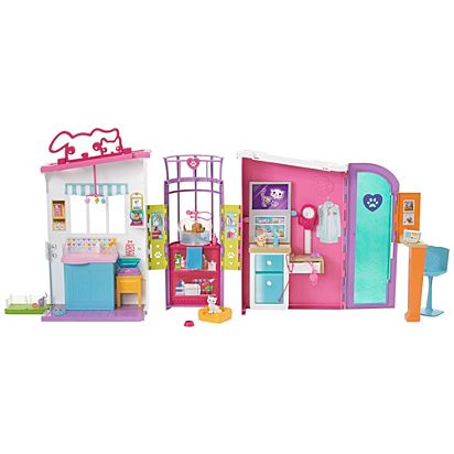Barbie Pet Care Center Playset Fbr36 Barbie