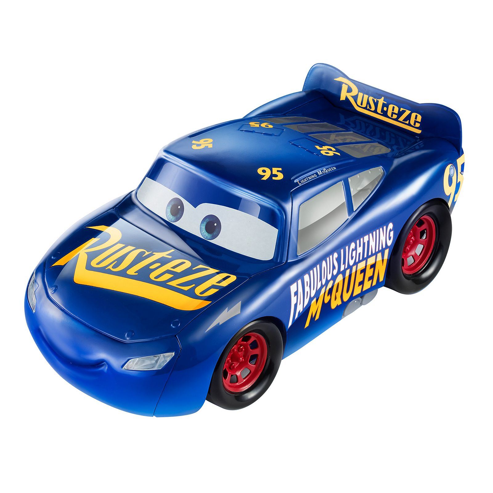 Disney Pixar Cars 3 Transforming Fabulous Lightning Mcqueen