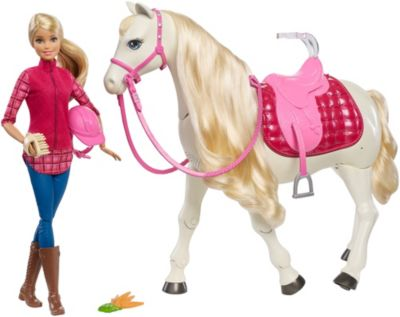 Barbie DreamHorse Voice Activated Toy Horse FDB39 Barbie