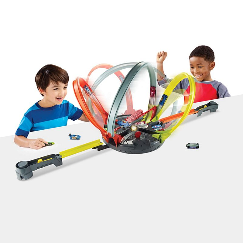 Hot Wheels Roto Revolution Track Set Fdf26 Hot Wheels