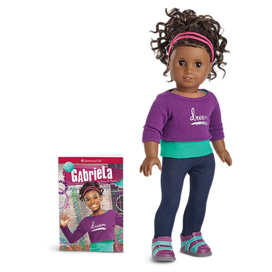 american girl gabriela doll book - Ameeican Girl Doll