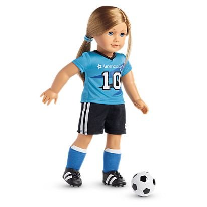 de666fe93 All-Star Soccer Outfit for 18-inch Dolls   American Girl