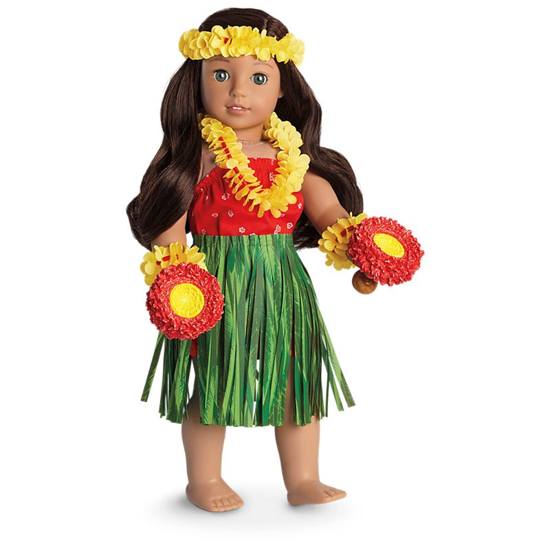 American Girl Nanea's Hula Outfit for 18-inch Dolls