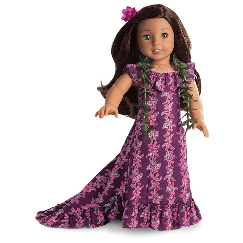 American Girl Nanea's Holoku Dress for 18-inch Dolls