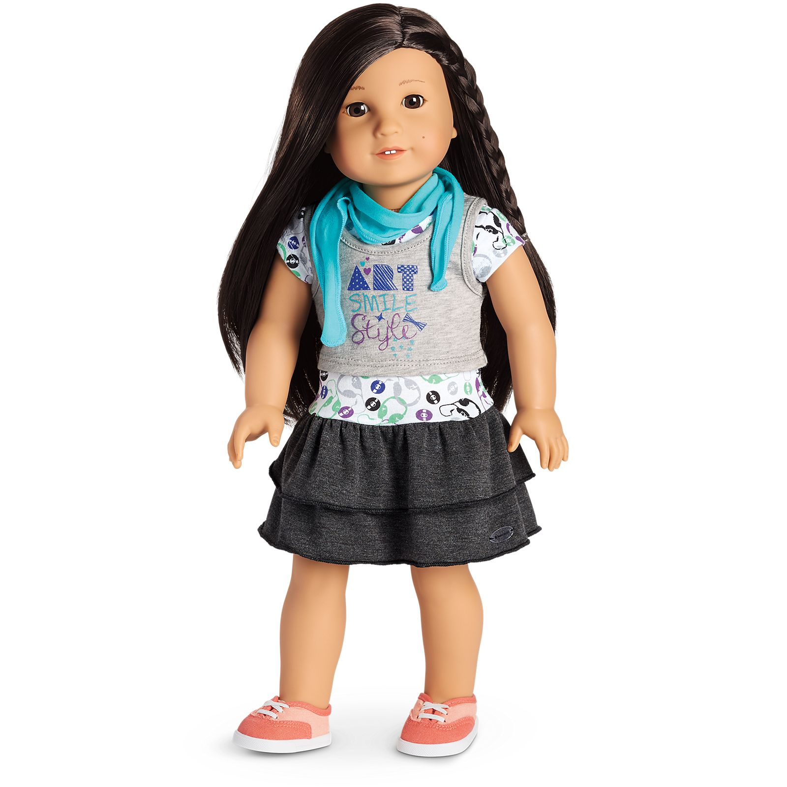 American Girl Z Yang/'s kit 18/'/' jacket doll out-pack will not included