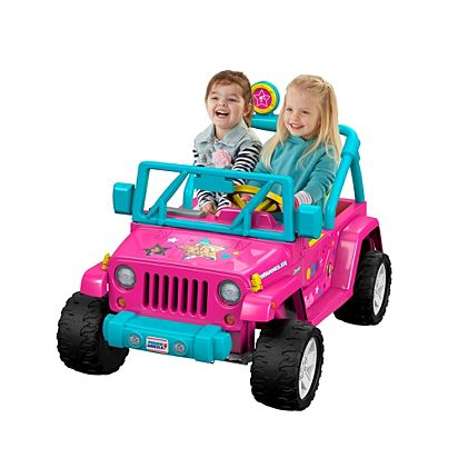 7a7d6bfc55e33 Power Wheels Barbie Jeep Wrangler