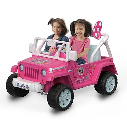 177ccc3185e7d Power Wheels Jeep Wrangler featuring Disney Minnie Happy Helpers ...