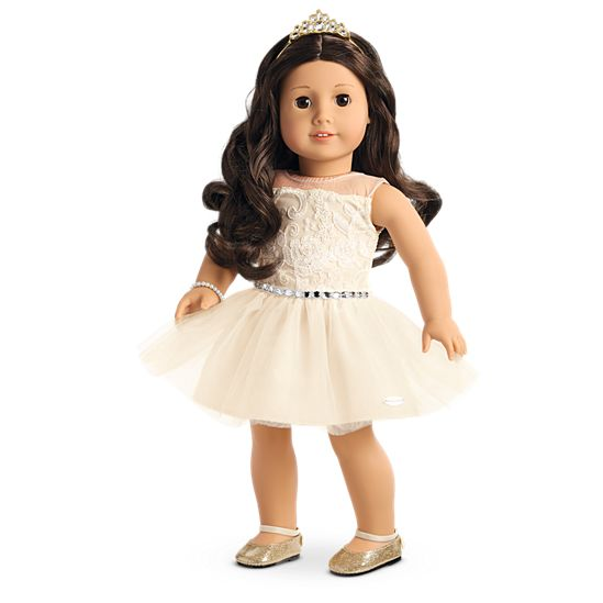 american girl celebration dress for 18 inch dolls - Ameeican Girl Doll