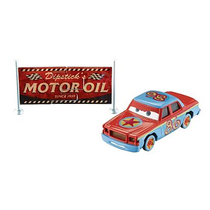 Image For CARS CRAZY 8 DC BILL From Mattel