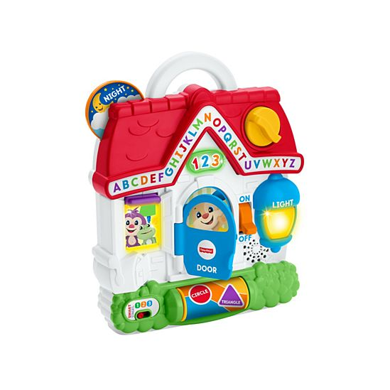 Laugh Learn Puppys Busy Activity Home Fgw20 Fisher Price