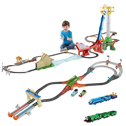 3f3c157ea66853 Image for Thomas TrackMaster Great Race Ultimate Gift Set from Mattel