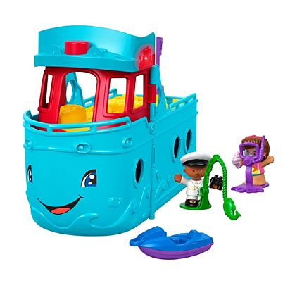 501547e383a8c Little People Travel Together Friend Ship | FHD92 | Fisher-Price