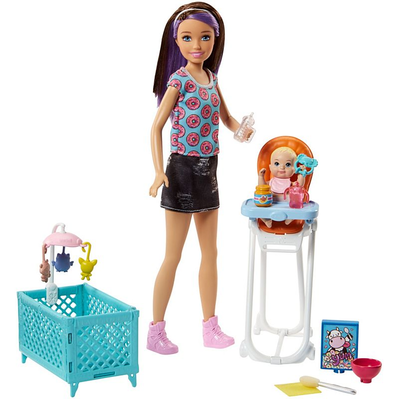 Barbie Skipper Babysitters Inc Doll And Playset Fhy98 Barbie