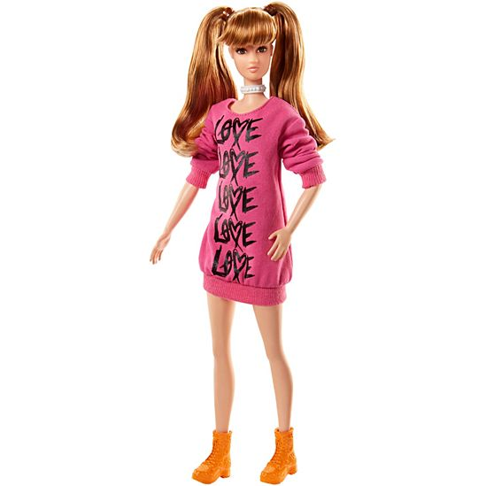 Barbie® Fashionistas® Doll 80 Wear Your Heart - Tall