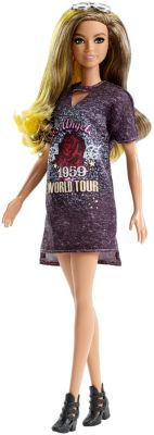 Barbie Fashionistas Doll 87   Original with Brunette Hair