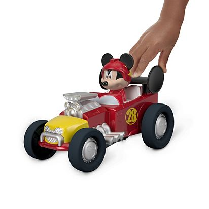 0f77bca2335a Disney Mickey and the Roadster Racers Jump N  Race Hot Rod