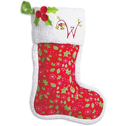 american girl merry stocking for girls - Girl Christmas Stocking
