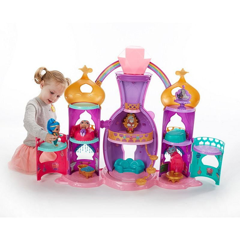 Shimmer And Shine Magical Light Up Genie Palace Dollhouse Flv06
