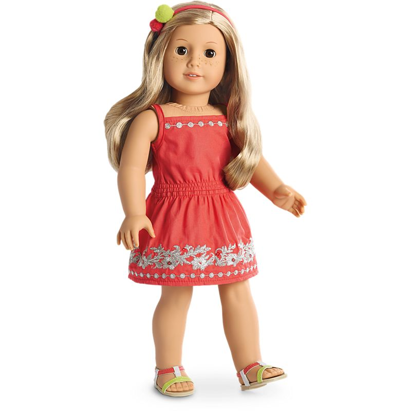 American Girl Sunny Day Dress For  Inch Dolls