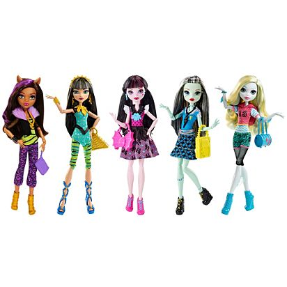 MONSTER HIGH DOLLS 20 Pairs Fashion Shoes Beautiful Mixed