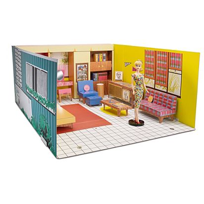 Image For BRB CHPBRD HOUSE DL From Mattel