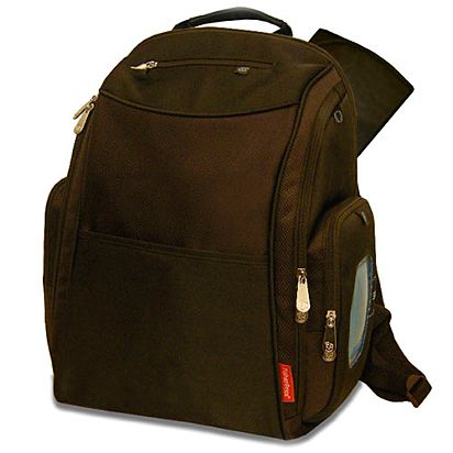 Image for Deluxe Sporty Diaper Backpack with the FastFinder™ Pocket System  (Brown) from c6ae6eb111