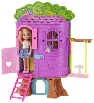 Barbie Club Chelsea Tree House Fpf83 Barbie