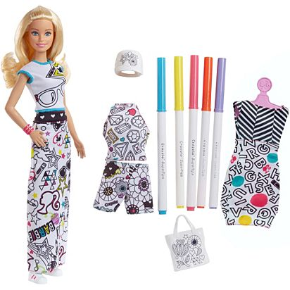 6cc0a7181089 Barbie Crayola Color-in Fashion Doll   Fashions