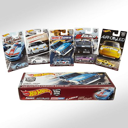 RLC Exclusive 2017 Car Culture Premium Boxed Set