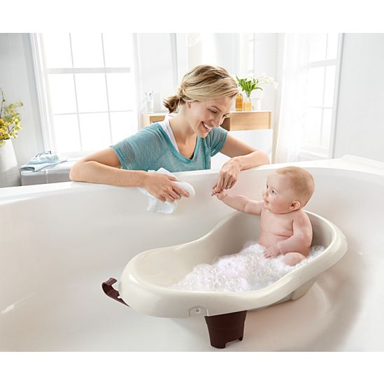 Calming Waters Vibration Baby Bath Tub | W9428 | Fisher-Price