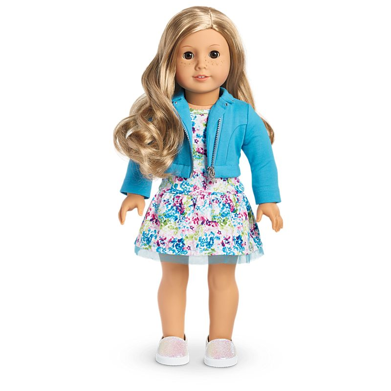 American Girl 2008 Just Like You 12 Blonde Hair Brown Eyes Jly