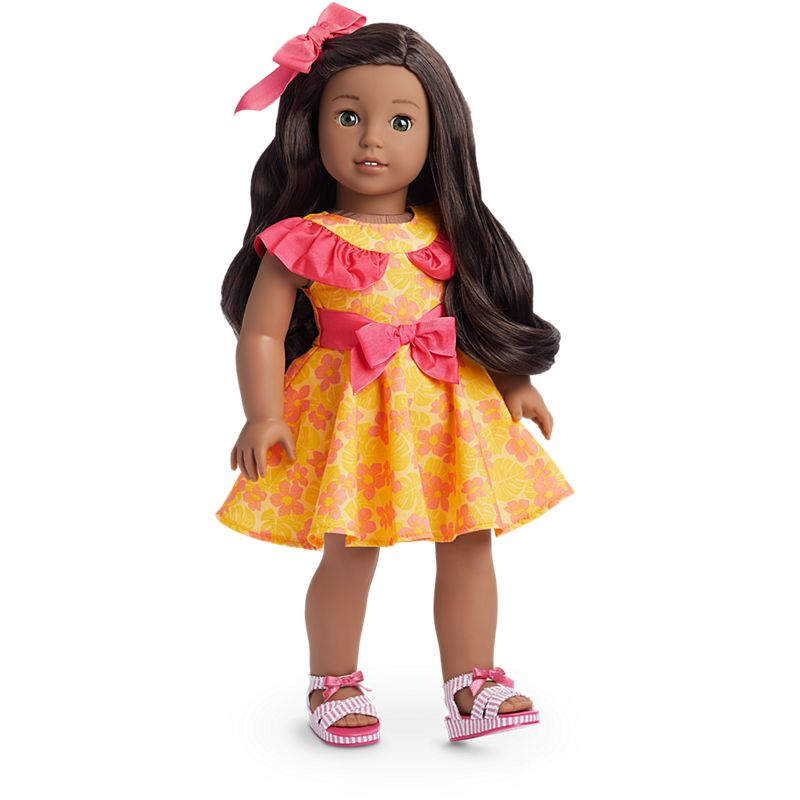 American Girl Nanea's Luau Dress for 18-inch Dolls