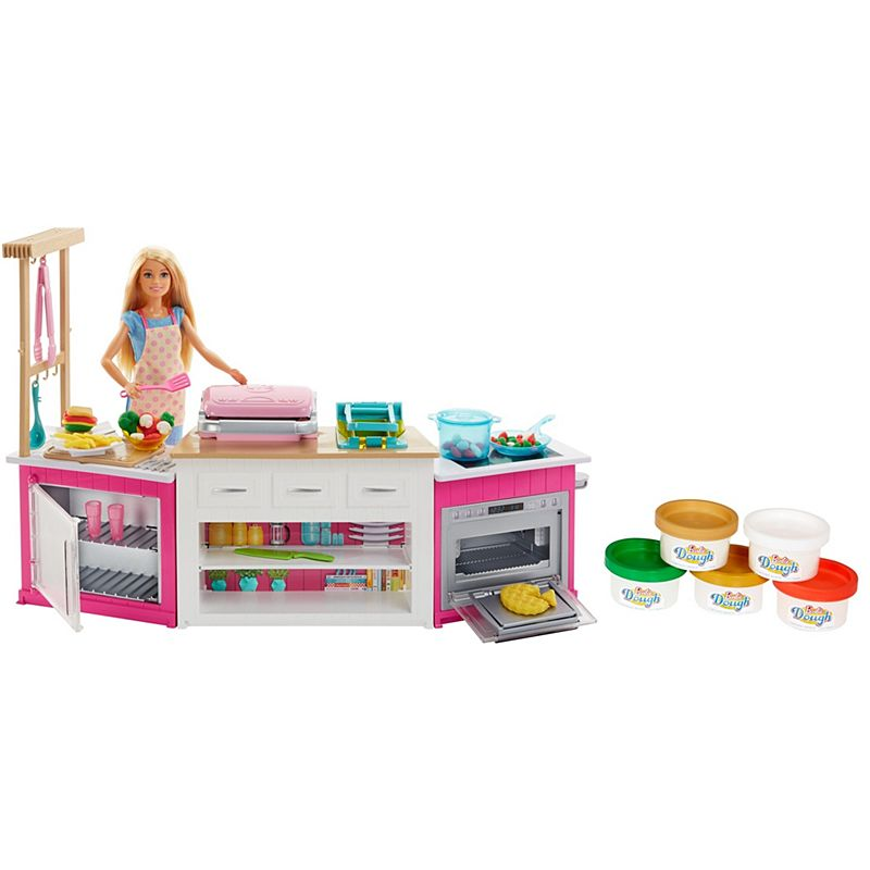 Barbie Ultimate Kitchen Playset With Barbie Chef Doll Frh73 Barbie