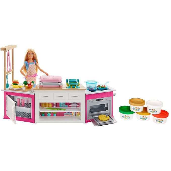 a61a1a2b6385 Barbie Ultimate Kitchen Playset with Barbie Chef Doll | FRH73 | Barbie