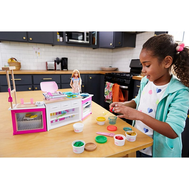 Barbie Ultimate Kitchen Playset With Barbie Chef Doll