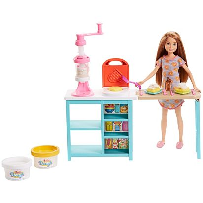 Barbie Breakfast Playset With Stacie Doll