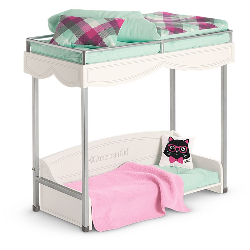 Bunk Bed Bedding Set For Dolls American Girl