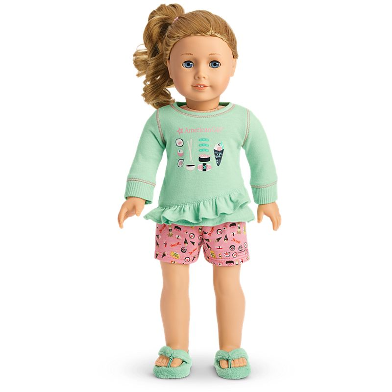 American Girl That's How We Roll PJs for 18-inch Dolls