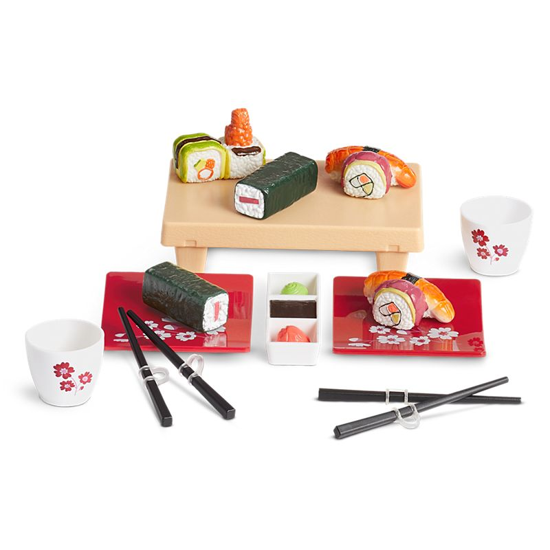 American Girl Out for Sushi Set