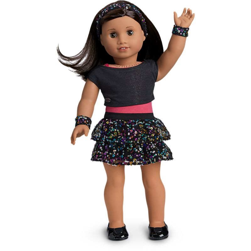 American Girl Sparkling Star Dance Outfit for 18-inch Dolls