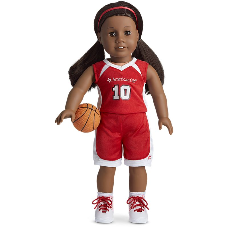 American Girl Shooting Star Basketball Outfit for 18-inch Dolls