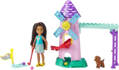 Barbie Club Chelsea Mini Golf Doll and Playset