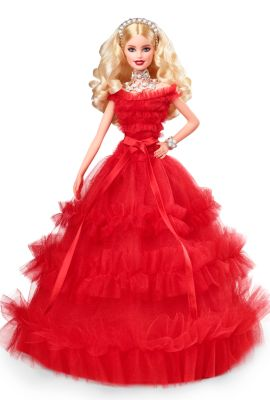 Barbie 2018 Holiday Doll