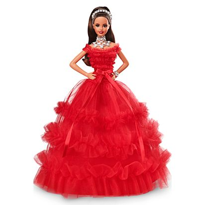 b2c44d9504a6 2018 Holiday Barbie Doll | FRN71 | Barbie Signature